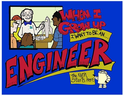 When i grow up i want to be an engineer for I need an engineer